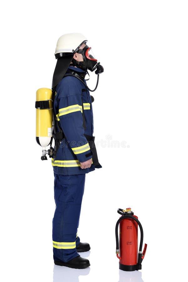 Brandweerman royalty-vrije stock afbeelding