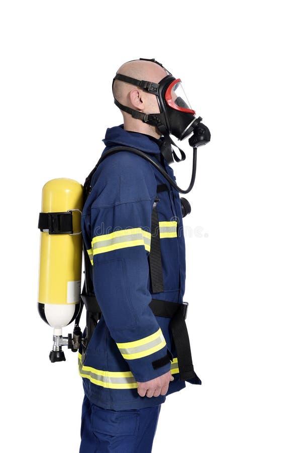 Brandweerman stock foto