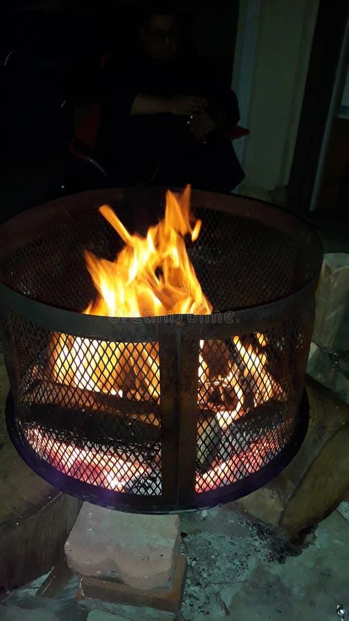Brandwond, brand, stoom, mmmm royalty-vrije stock afbeelding