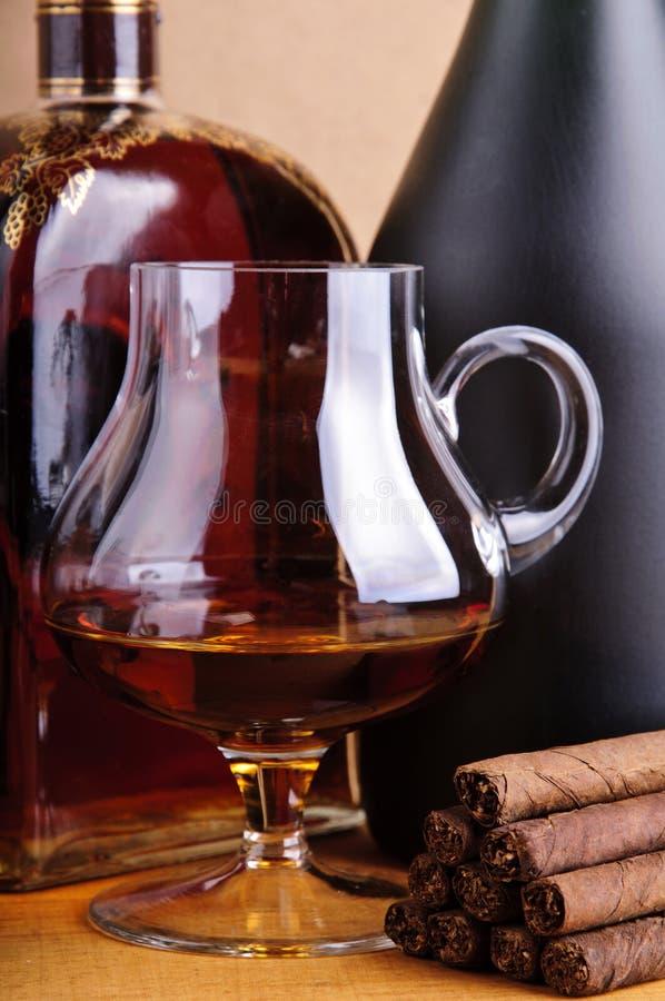 Free Brandy And Cigarillos Stock Photos - 17695283