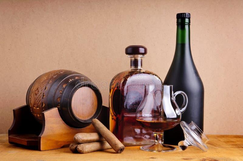brandy cygara zdjęcia royalty free