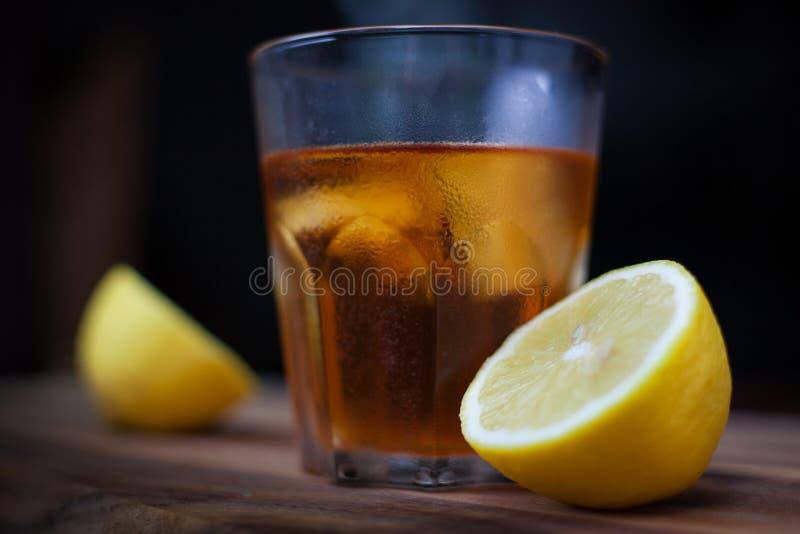 Brandy et citron photos libres de droits
