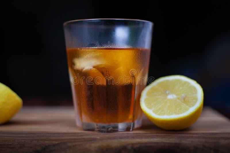 Brandy et citron image stock