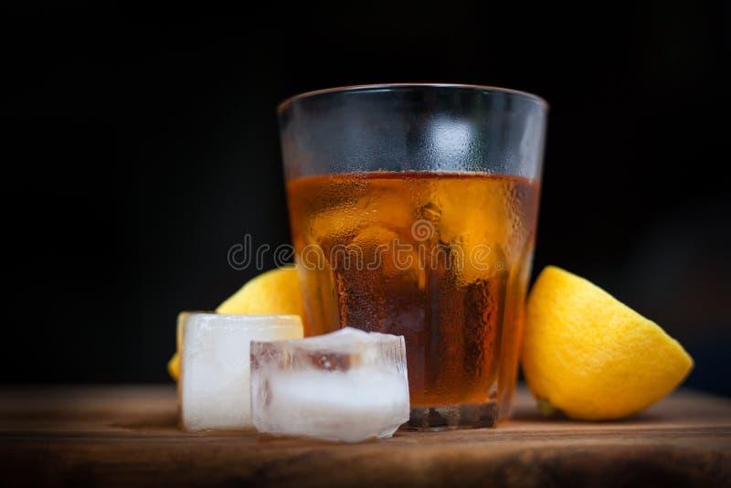 Brandy et citron images stock