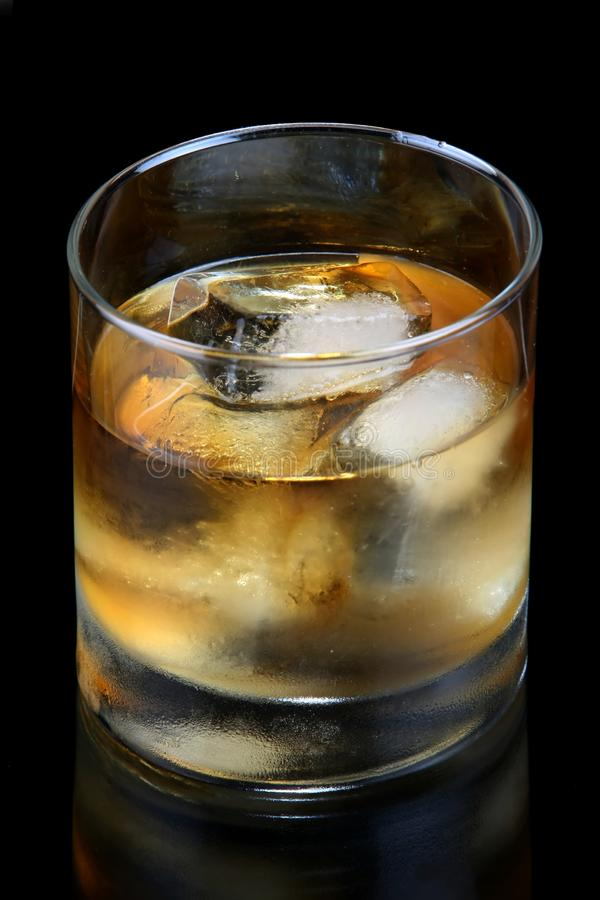 Brandy or Whiskey Drink stock photo