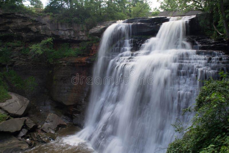 Brandywine baja en el parque nacional de Cuyahoga fotos de archivo libres de regalías