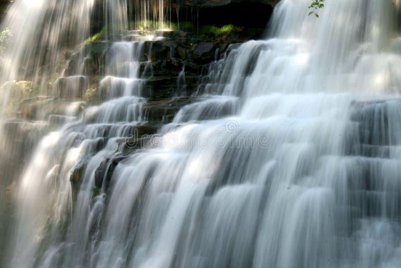 Brandywine Falls. In northeast Ohio royalty free stock photo