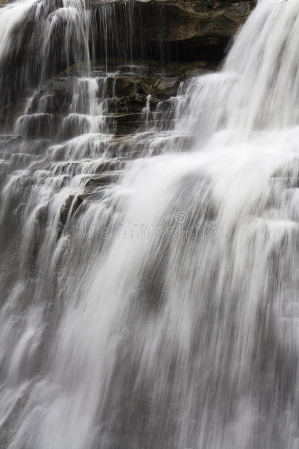 Brandywine Falls. In Cuyahoga Valley, National Park stock photography