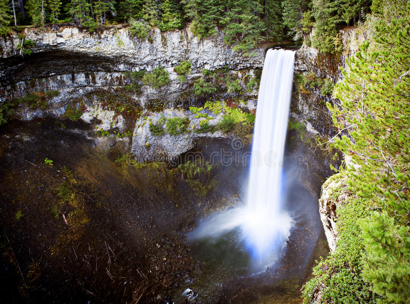 Brandywine falls. Brandywine fall on Sea to Sky Hwy from Squamish to Whistler royalty free stock photo