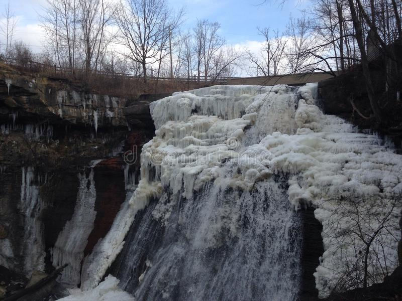 Brandywine Falls stock photo