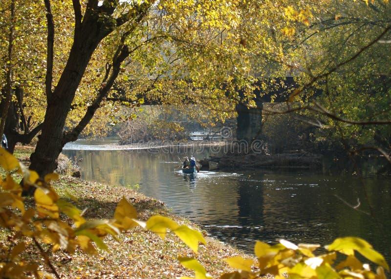 Brandywine-Fluss-Reise lizenzfreie stockbilder