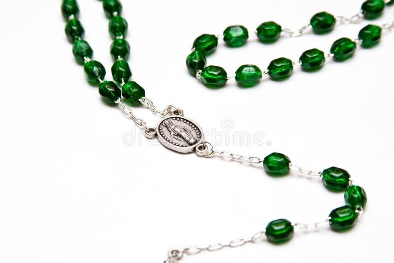 Branelli cattolici del rosario fotografie stock