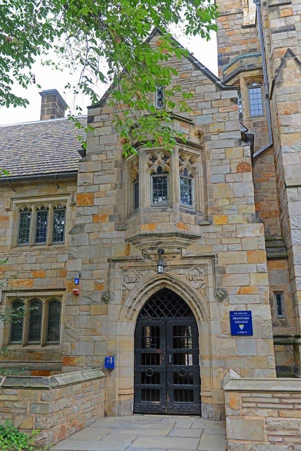 Branford College, Yale University, CT, U.S.A. immagini stock libere da diritti