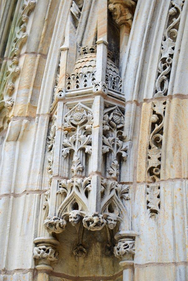 Branford Hall, Yale University, CT, U.S.A. immagini stock