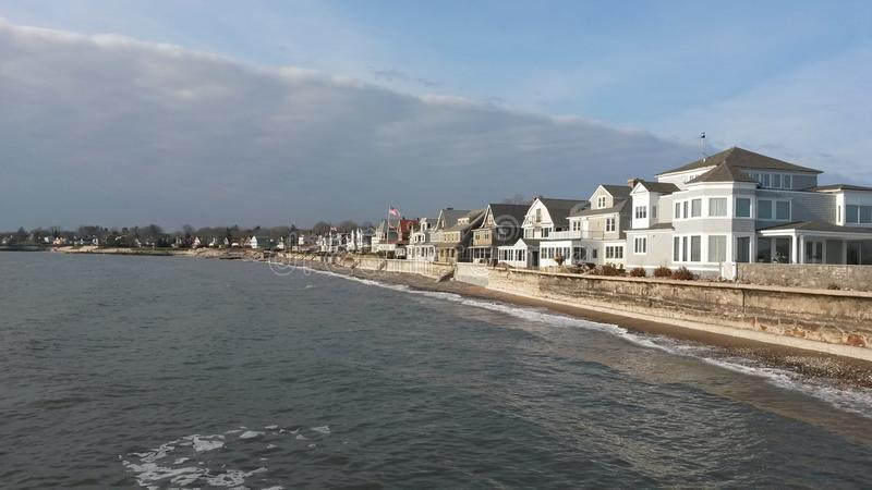 Branford Shoreline photos libres de droits