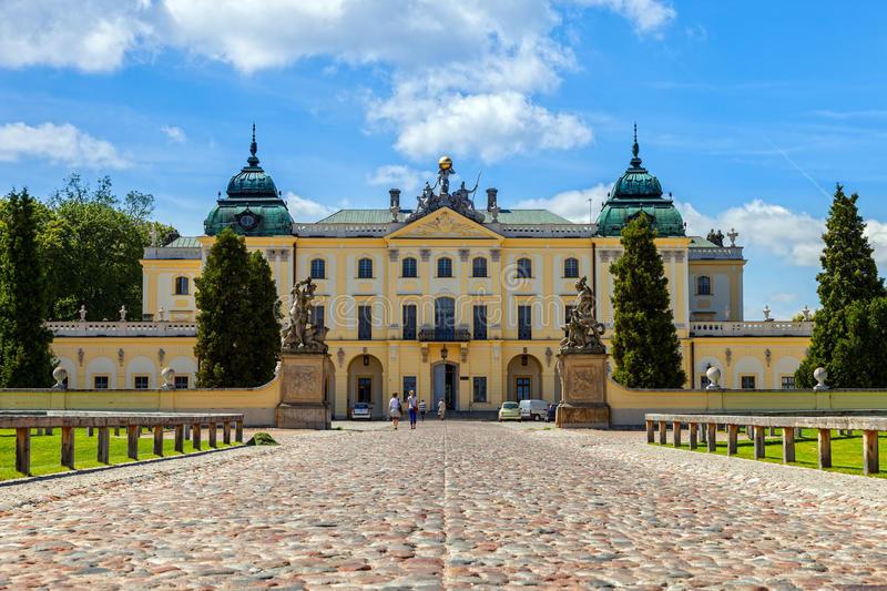 Branicki Palace royalty free stock photo