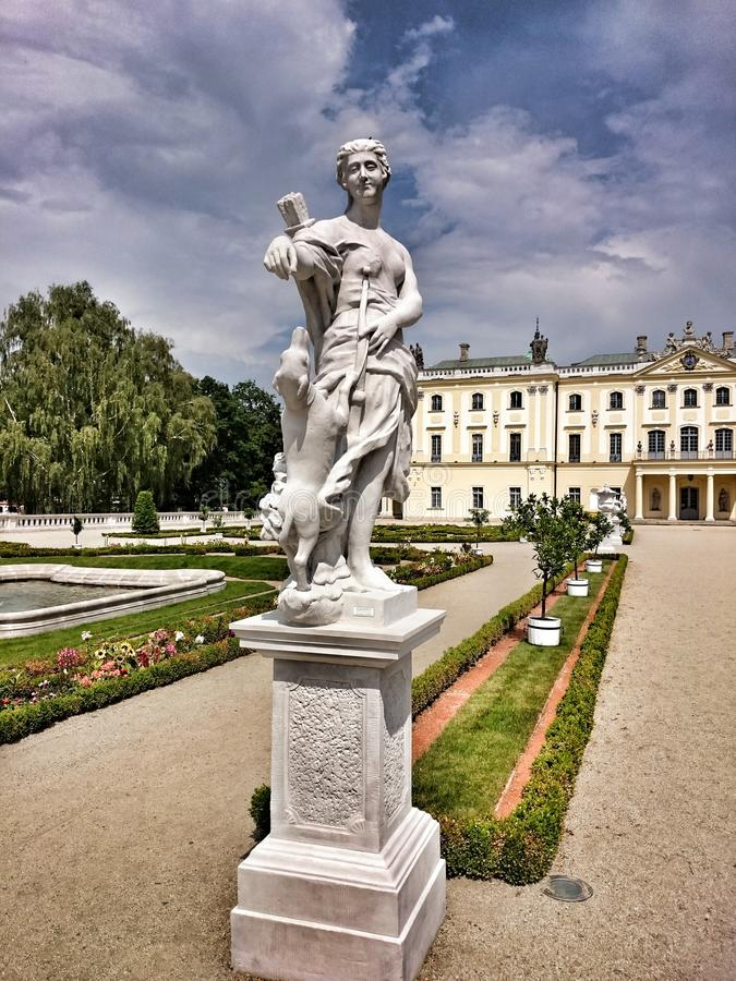 Branicki Palace. royalty free stock image