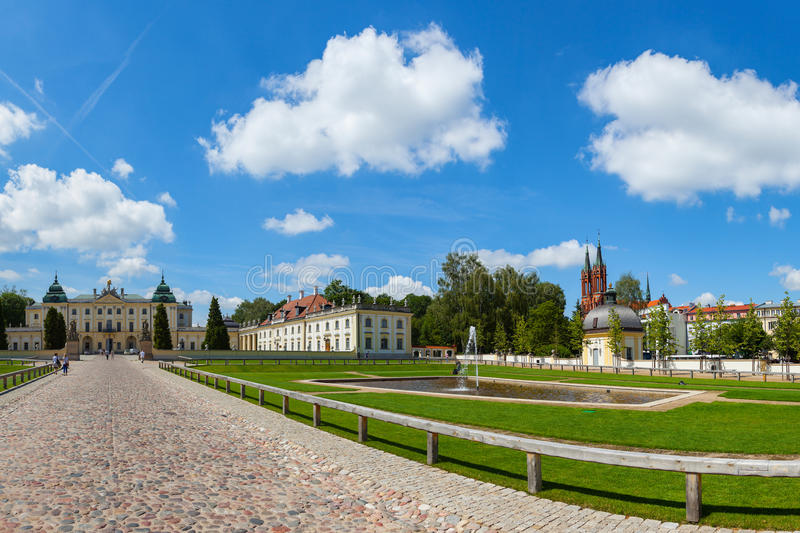 Branicki Palace now The Medical University royalty free stock image