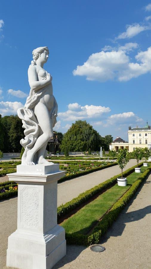 Branicki-Palast-Garten lizenzfreie stockfotos