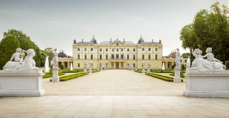 Branicki slott i Bialystok royaltyfria bilder