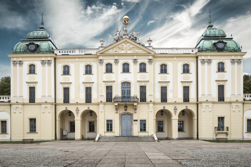 Branickis slott i Bialystok fotografering för bildbyråer