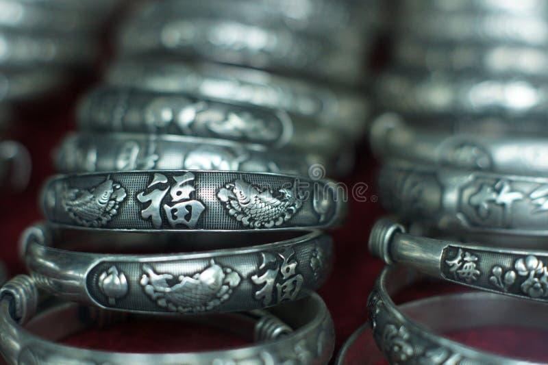 bransoletki chiński odłamka styl tradycyjny obrazy royalty free