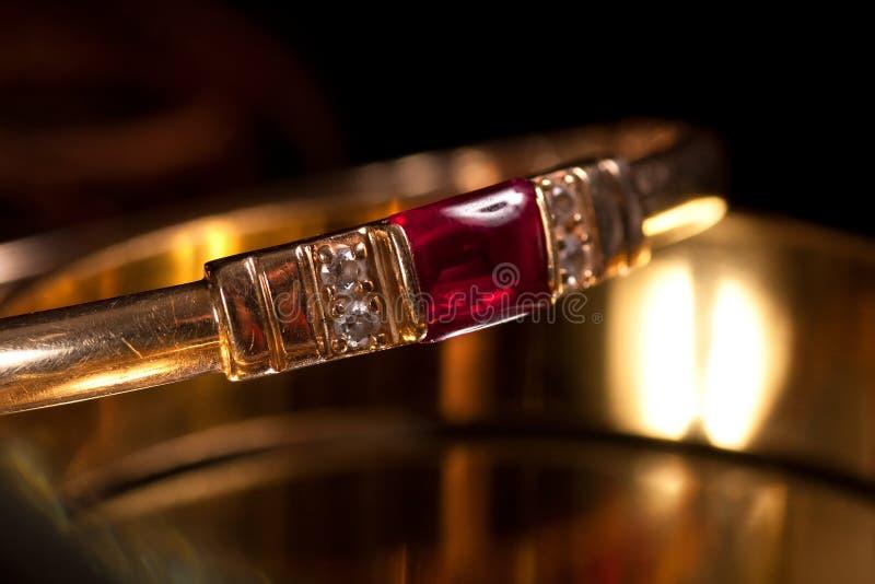 bransoletki złote obraz stock