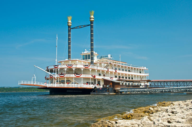 The Branson Belle Showboat stock images