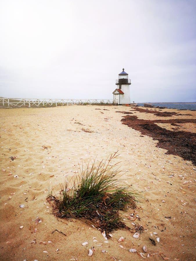Brant φάρος σημείου, Nantucket στοκ φωτογραφία