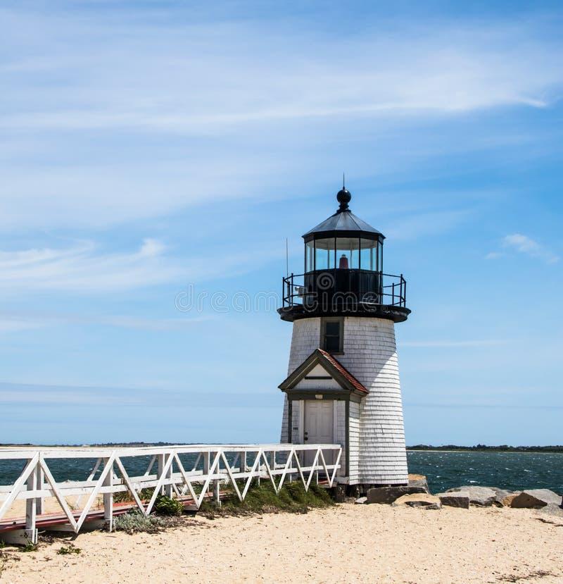 Brant Point Lighthouse fotografía de archivo