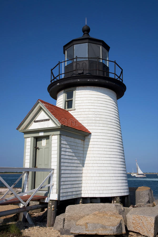 Brant-Punkt-Leuchtturm Nantucket stockbilder