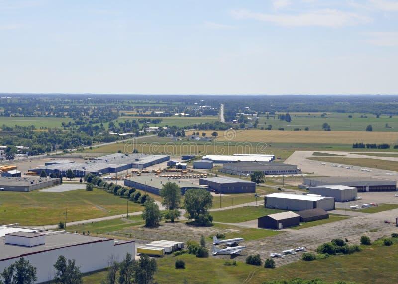Brantford lotniska antena obraz royalty free