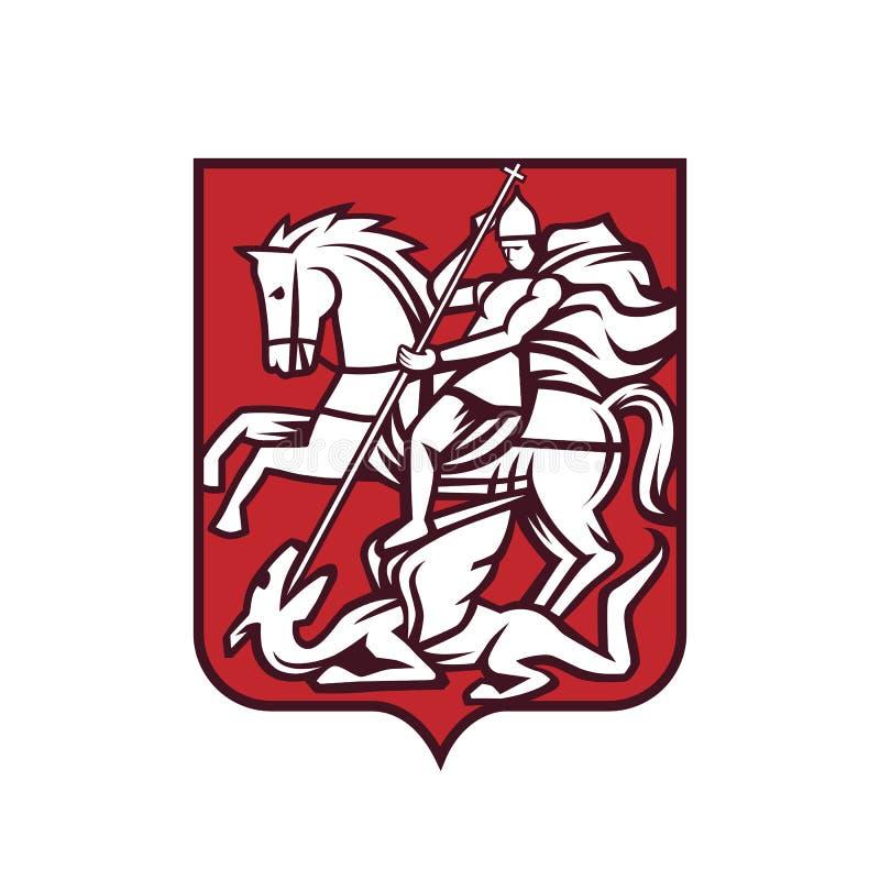 Brasão de St George imagem de stock royalty free