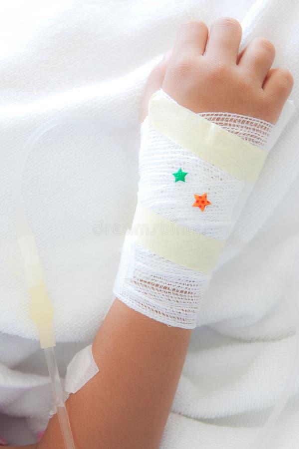 Bras blessé image libre de droits
