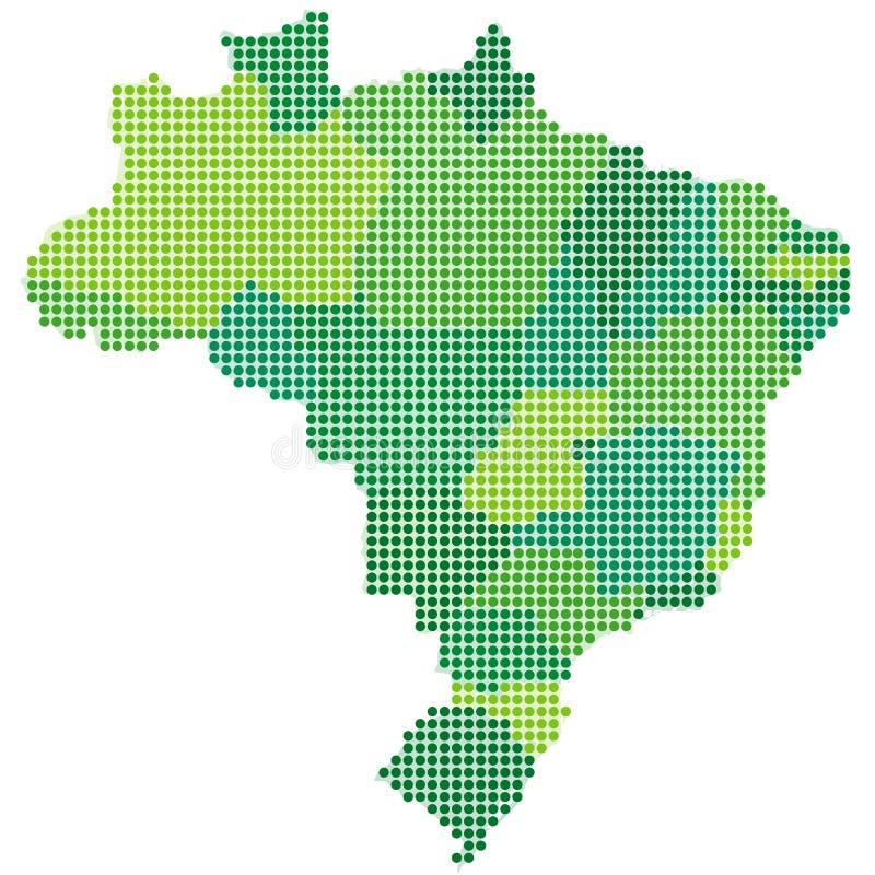 Brasil ilustração royalty free