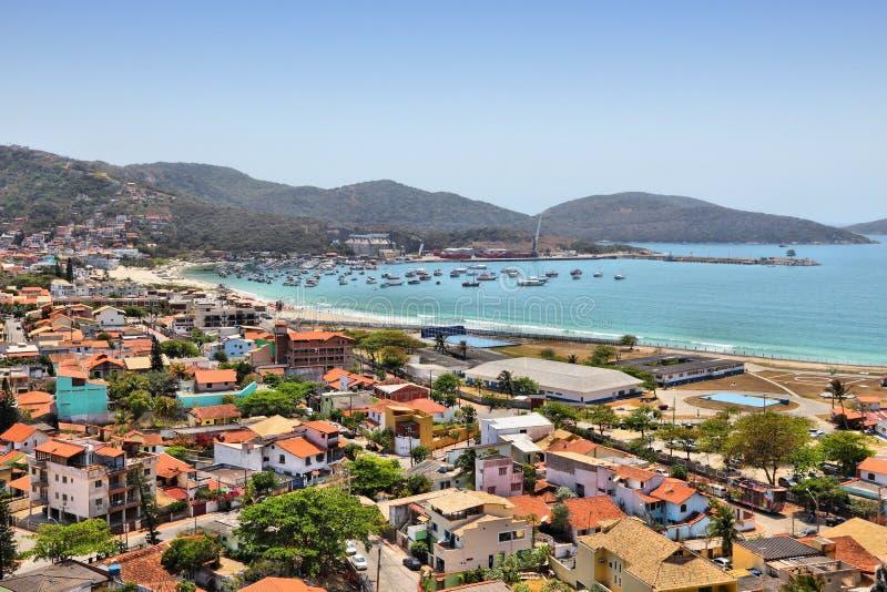 Brasil - Cabo Frio imagem de stock