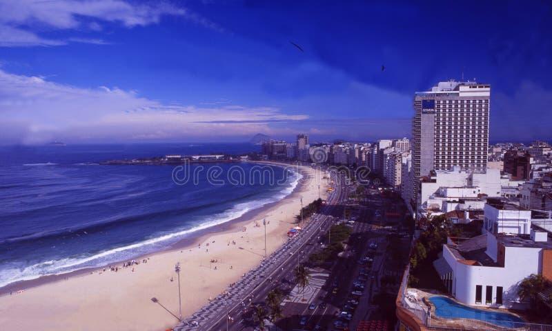 Brasil: Copacabana em Rio de janeiro fotos de stock