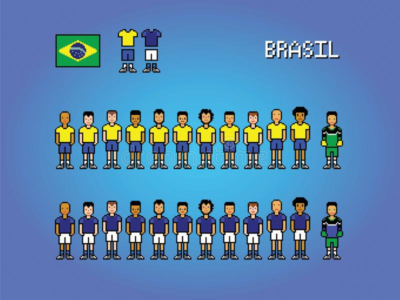 Pixel Art Football Stock Illustrations 172 Pixel Art