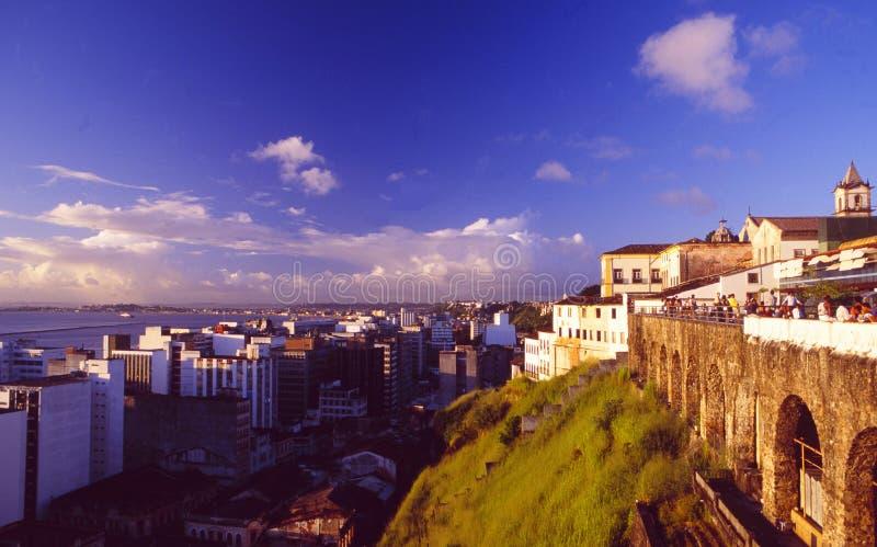 Brasil: Salvador de Bahia no patrimônio mundial Pelourinho do Unesco foto de stock royalty free