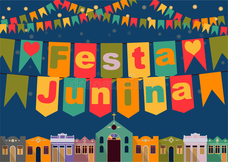 Brasileño el partido de junio libre illustration