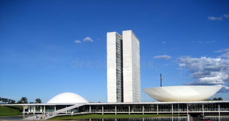 brasilia Brazil kongresu obywatel zdjęcie stock