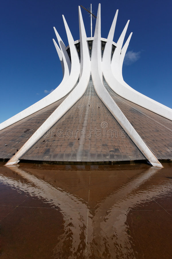 Download Brasilia Cathedral Brazil stock photo. Image of brazil - 5845734