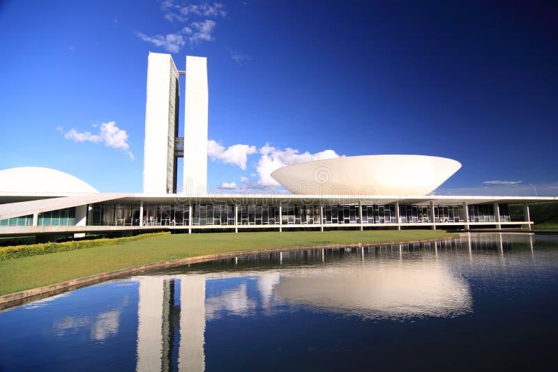 Brasilia Congres stock fotografie