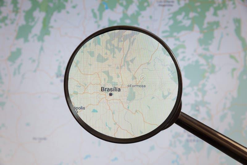 Brasilia, el Brasil correspondencia pol?tica fotos de archivo libres de regalías