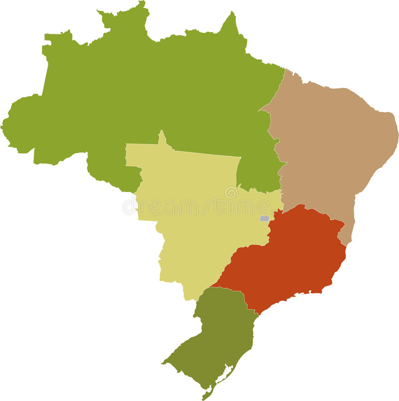 Brasilianische Regionen