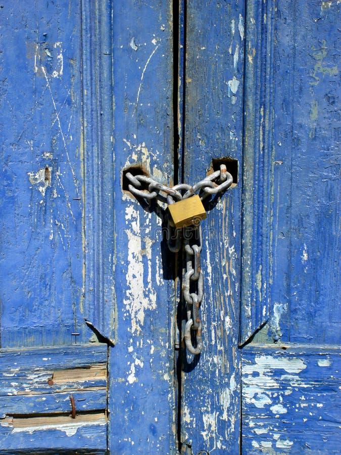 Verschlossene tür  Brasilianische Verschlossene Tür Stockfotografie - Bild: 1523632