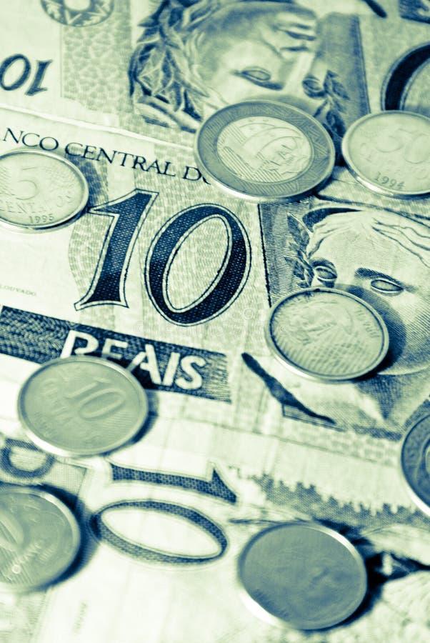Brasilianisches Geld stockbild