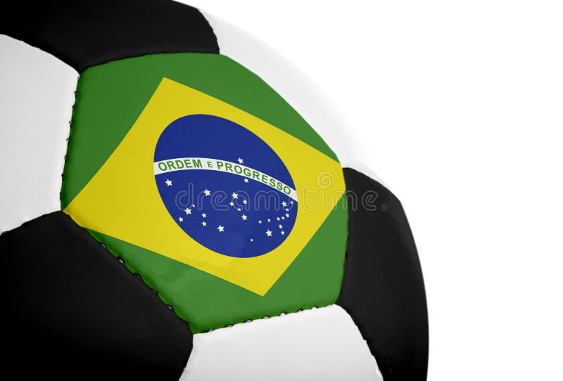brasiliansk flaggafotboll arkivfoton