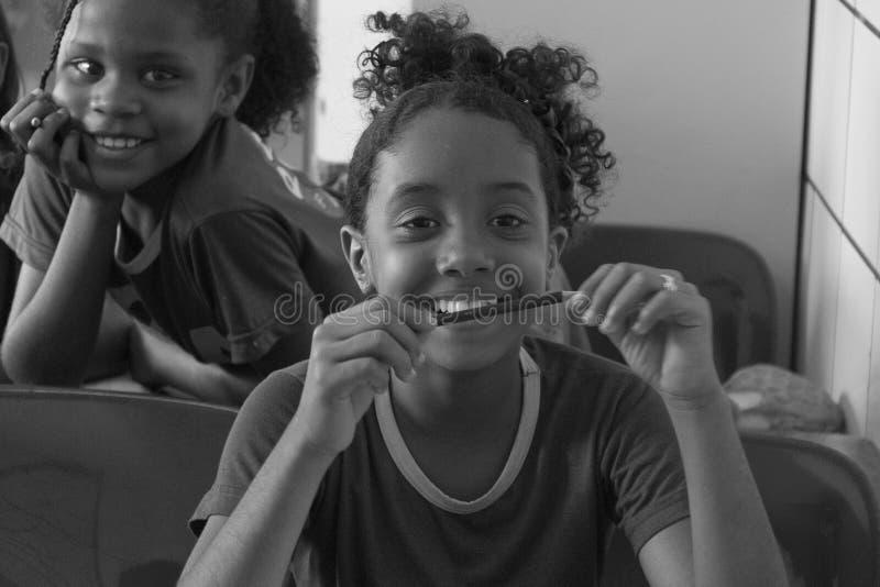 Brasilianska flickor royaltyfria foton