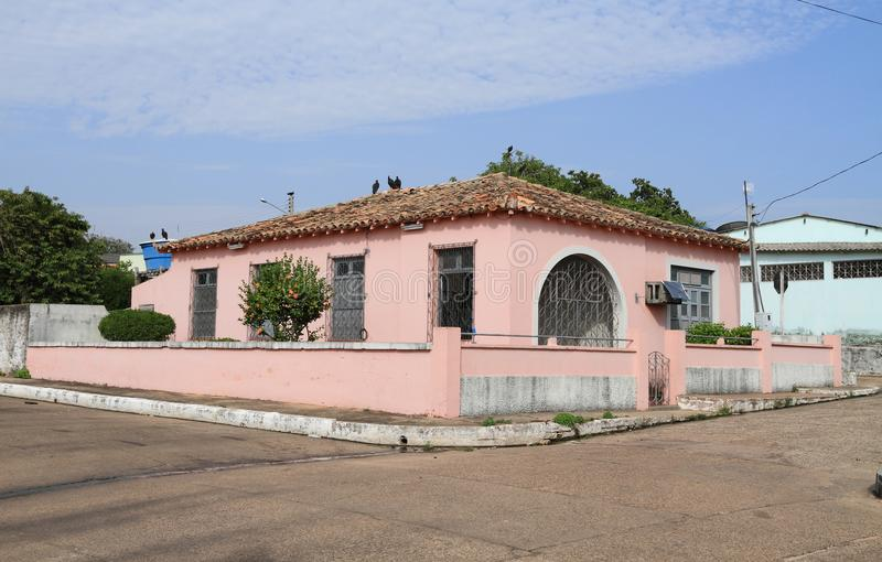 """Brasilien, Ã-""""bidos: Architektur - Familienhaus stockbild"""